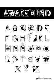Awakemind Font Poster