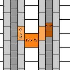 three sizes tile pattern found at southcypress tilepattern