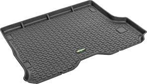 Jeep Cherokee Xj Floor Pans quadratec 14255 7201 ultimate all weather rear cargo liner in