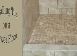 mosaic tile shower floor for best way to clean tile floors wood