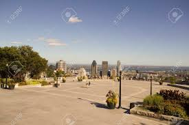 100 Belvedere Canada View Of The Downtown Montreal From The Mount Royal Belvedere