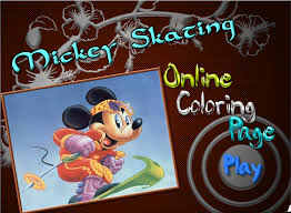 Mickey Mouse Colouring Book Games