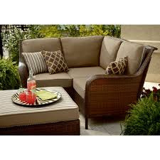 Outdoor Sectional Sofa With Chaise by Ty Pennington Style Mayfield 4 Pc Sectional Group