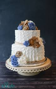 Like This Small Wedding Cake I Made For Hayley And John Who Are Getting Married Week Hayleys Sister The Fabric Flowers Used To Decorate