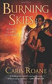 Burning Skies Book 2 Of The Guardians Ascension Paranormal Romance Trilogy