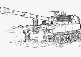 World War Tank Coloring Pages Printable