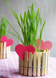 Tinker With Clothespins Flower Pot