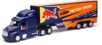 100 Semi Truck Toy REPLICA 132 SEMI TRUCK 17 RED BULL KTM RACE TRUCK NewRay S 14393