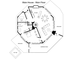 104 Tree House Floor Plan Pin By Jim Nielsen On S Octagon S Cabin S