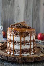 Apple Spice Naked Cakes With Drizzle