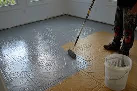sol de cuisine home staging sol peinture pour meuble de cuisine en chene pinacotech