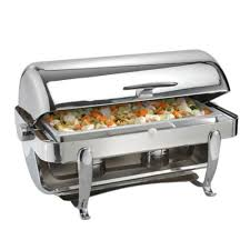 Chafing Dishes Roll Top 8 QT Rectangular