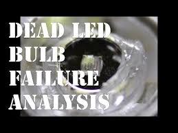 failure analysis of an led light bulb