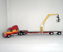 100 Diecast Promotions Trucks DieCast DCP Tractor Trailer With Articulating Boom