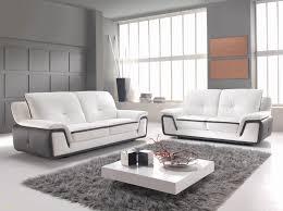 meubles canapé canapé cuir et bois superbe meuble de salon design italien meubles