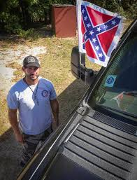 100 Rebel Flag Truck Heathwood Hall Confederate Flag Supporter Clash The State