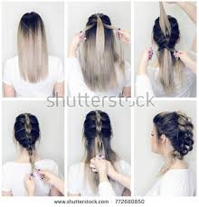 Before And After Hairstyle Tutorial Hairdresser Making Amazing Hairstyles Step By DIY