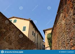 100 Brick Walls In Homes Old And An Ancient European Town Stock Image