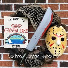 Jason Voorhees Pumpkin Stencil Free by 18 Burlap Camp Crystal Lake Jason Voorhees Friday The