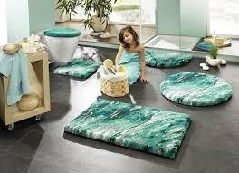 flauschige badteppiche badgarnituren für mehr wohnlichkeit