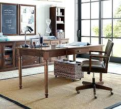 Table As Desk Dining Room A Small Bedroom Was Transformed Into Home Printers Writing Doubles Console