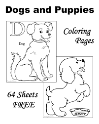 Coloring Pages Dogs Printable 12 Well Suited Dog