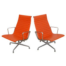 Knoll Pollock Chair Used by Vintage U0026 Used Orange Office Chairs Chairish