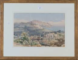 100 Angelos Landscape Giallina Corfu S A Pair Of Late 19thearly 20th