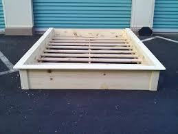 Platform Bed Frame by Customize It Hawaii Platform Beds The Aloha Boy