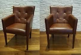 details zu breite echtleder esszimmerstühle stuhl sessel esszimmer braun leder stühle