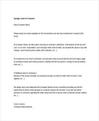 apology letter to a customer 28 images mistake business letter