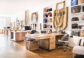 Decoration Modern Rustic Office Cosy Unique Design FEEDs NYC Gets A