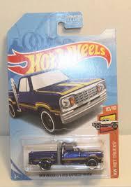 100 Teels Trucks 2019 HW Hot 1978 Dodge Lil Red Express Truck 55250