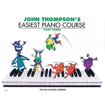 John Thompson's Easiest Piano Course Book - Part 3