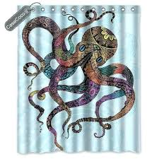 Octopus Shower Curtain Octopus Shower Curtain Octopus Shower