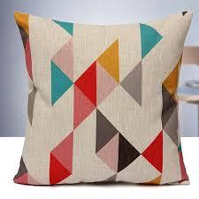 housses coussins canapé housse coussin géométrique canapé maison cushion cover lit q3081