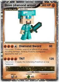 Pokemon Steve Diamond Armor