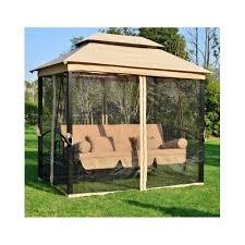 outdoor swing tent patio 3in1 gazebo hammock bench bed canopy mesh
