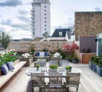 rooftop garden deck contemporary with ny rooftop garden outdoor