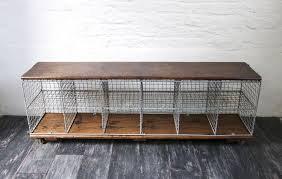 Smart Idea Long Outdoor Shoe Rack Design With Storages Also