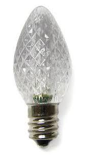 to green led c7 bulbs box of 25