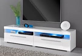 tv lowboard wohnzimmer wohnwand anbauwand 140cm weiß hochglanz neu 278531 ceres webshop