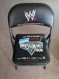 100 Stupid People And Folding Chairs Fold Up Chair From The First Time The WWE Came To NZ In 06 Without
