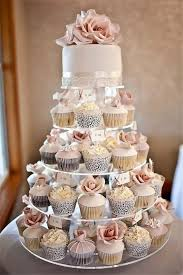 Wedding Cupcake Contunie To Be The Trend For All Seasons Of These Sweet Layers Allow You Avoid Messy Cake Cutting And Decorated In Many Ways