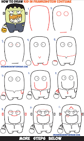 100 How To Draw A Truck Step By Step Cute Easy Monster Ings Lien In Pencil Of Cookie