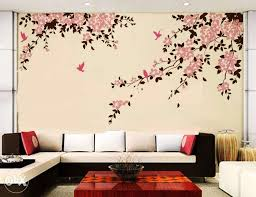 Bedroom Paint Design Ideas Wall Designs For Living Room Inspiring Nifty Paintings Model