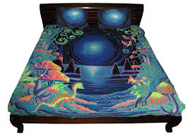 king size bed set space jungle duvet cover 2