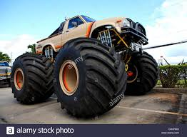 100 Truck For Sale On Maui United States Hawaii Island Of Monster Truck Stock Photo