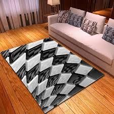 zzsdg moderner teppich für wohnzimmer 3d muster schlafzimmer