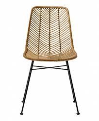 fauteuil de bureau lena bloomingville rattan chair lena bloomingville